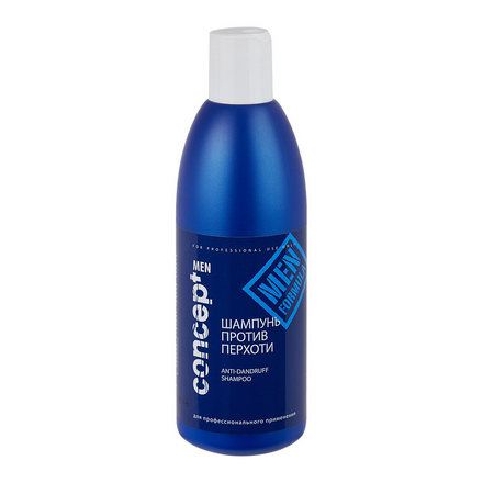 Concept, Шампунь для мужчин Anti-dandruff shampoo, 300 мл