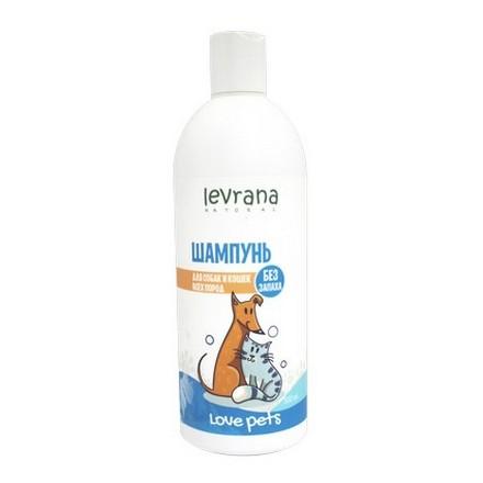 Levrana, Шампунь без запаха для собак и кошек всех пород, 500 мл