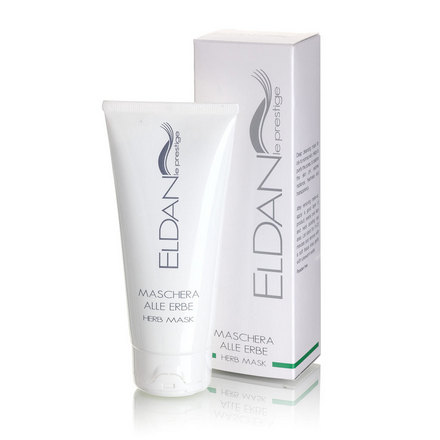 Eldan Cosmetics, Травяная маска для лица, 100 мл