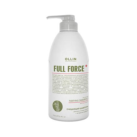 OLLIN, Очищающий шампунь Full Force, 750 мл