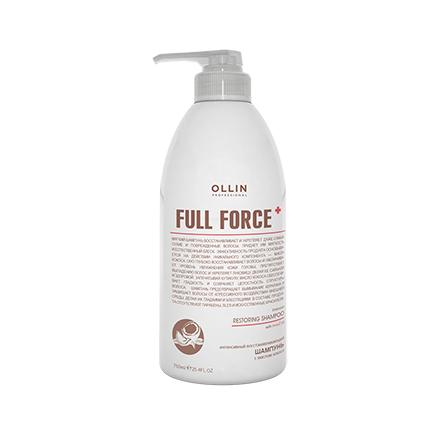 OLLIN, Восстанавливающий шампунь Full Force, 750 мл
