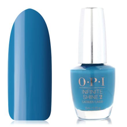 OPI, Infinite Shine Nail Lacquer, Wild Blue Yonder, 15 мл
