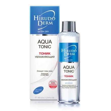 Hirudo Derm, Тоник для лица Aqua, 180 мл