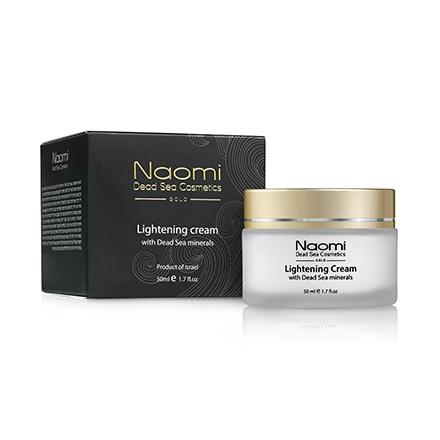 Naomi, Осветляющий крем для лица, 50 мл