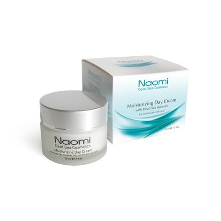 Naomi, Увлажняющий крем для нормальной и жирной кожи, 50 мл