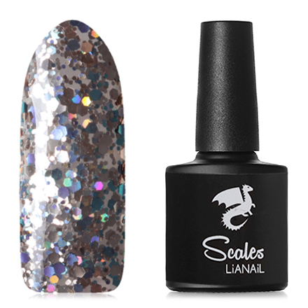 Lianail, Гель-лак Scales, Ice dragon