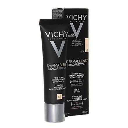 Vichy, Тональная основа Dermablend 3D Correction, тон 15, opal, 30 мл