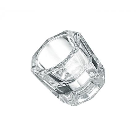 ruNail, стаканчик для жидкости (стеклянный) 6 мл
