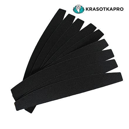 KrasotkaPro, Сменные картриджи для пилки-лодочки, черные, 180 грит, 50 шт