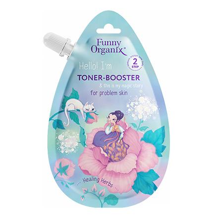 Тонер-бустер для лица Healing Herbs