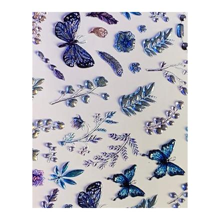 AnnaTkacheva,3D-слайдерCrystal№648 «Бабочки. Веточки»