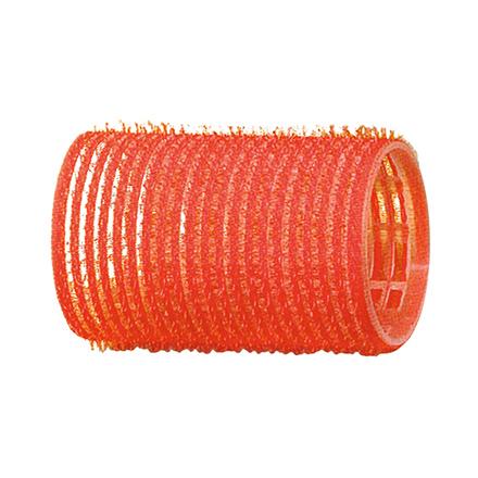 Dewal, Бигуди-липучки, красные, 36 мм