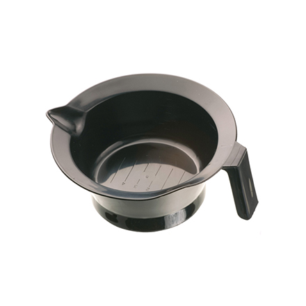 Dewal, Чаша для краски, с ручкой и носиком, черная, 260 мл