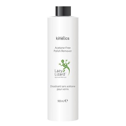 Kinetics, Жидкость для снятия лака Green lizard, абрикос, 900 мл