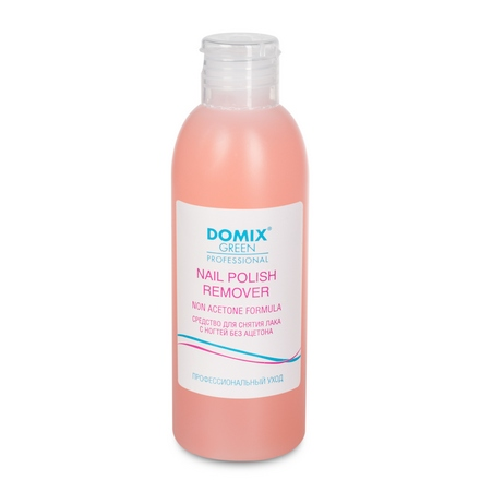 Domix, Nail Polish Remover Non Aceton Formula, Средство для снятия лака, 200 мл