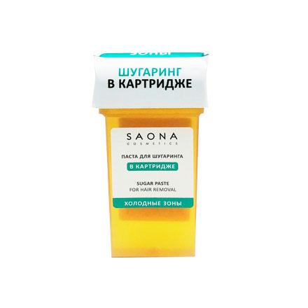 Saona Cosmetics, Паста в картридже «Холодные зоны», 80 г