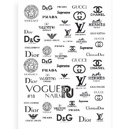 Vogue Nails, Слайдер-дизайн №18
