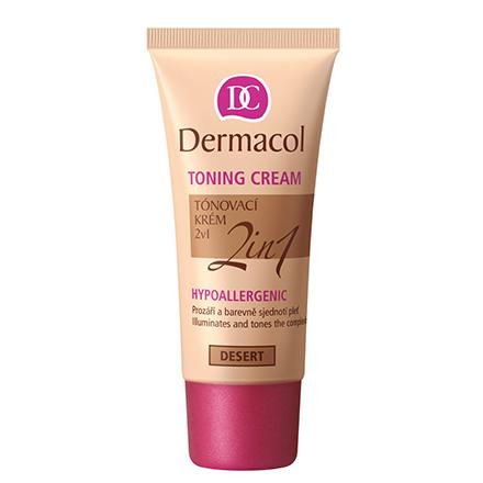 Dermacol, Гипоаллергенный тональный крем 2 в 1, desert