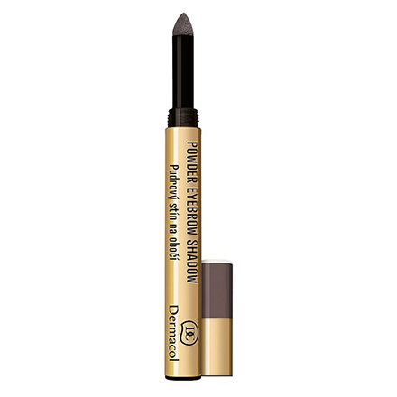 Dermacol, Пудровые тени-карандаш для бровей №3