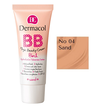 Dermacol, BB-крем Magic Beauty 8 в 1 №4, Sand