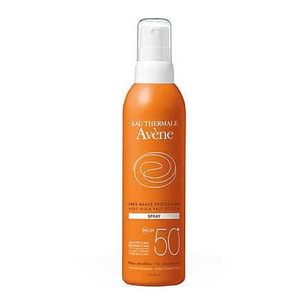 Avene, Спрей для лица и тела SPF 50+, 200 мл