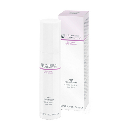 Janssen Cosmetics, Крем для лица AHA, 50 мл