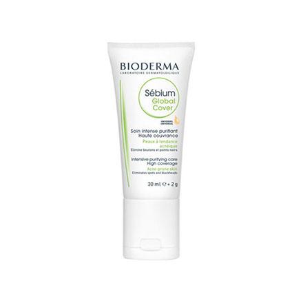Bioderma, Тональный флюид и корректор Sebium Global Cover