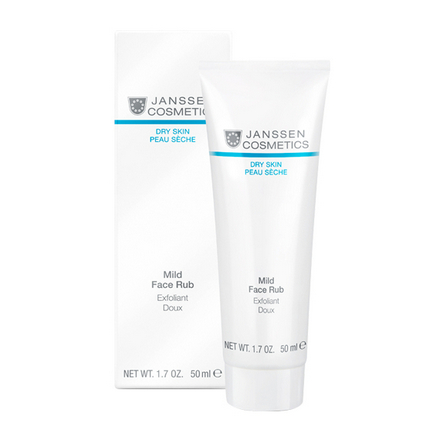 Janssen Cosmetics, Мягкий скраб для лица, 50 мл