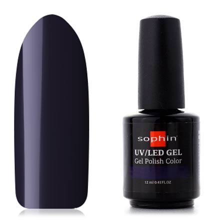 Sophin, Гель-лак №0759, Blackened Blue