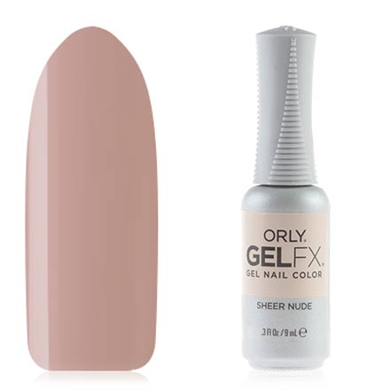 ORLY, Гель-лак Gel Fx, Sheer Nude
