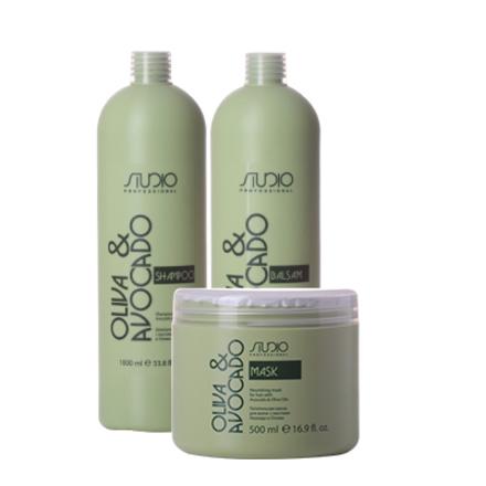 Kapous, Набор для волос «Авокадо и олива»