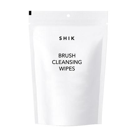 SHIK, Салфетки для очищения кистей, 50 шт.