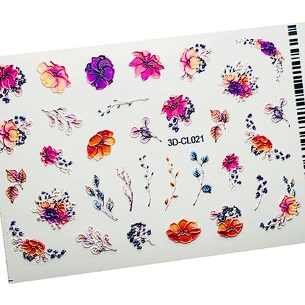 AnnaTkacheva,3D-стикерCL№021 «Цветы. Веточки»