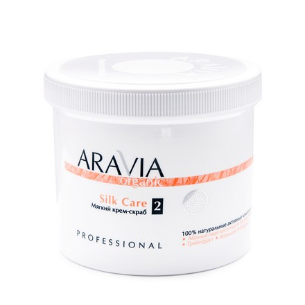"ARAVIA Organic, Мягкий крем-скраб ""Silk Care"", 550 мл"