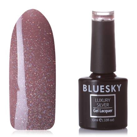 Bluesky, Гель-лак Luxury Silver №704