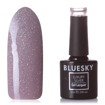 Bluesky, Гель-лак Luxury Silver №705