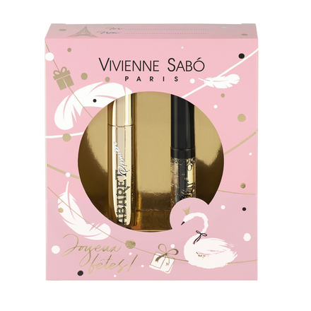 Vivienne Sabo, Подарочный набор: тушь Cabaret Premiere, гель для бровей Fixateur