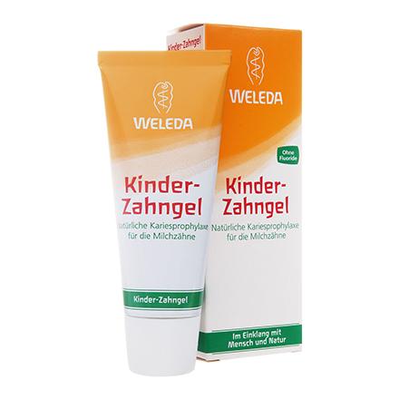 Weleda, Детская зубная паста-гель, 50 мл