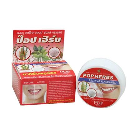 POP Herbs, Растительная зубная паста, 30 г