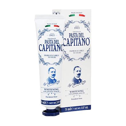 Pasta Del Capitano, Зубная паста Whitening, 75 мл