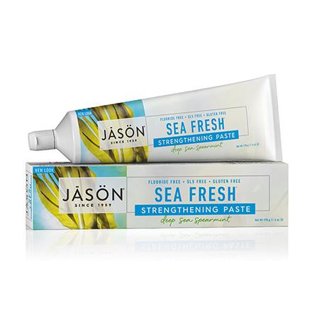 JASON, Зубная паста Sea Fresh Strengthening, 170 г