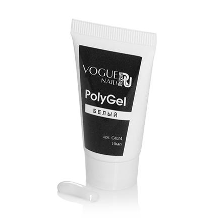 Vogue Nails, PolyGel, белый, 10 мл