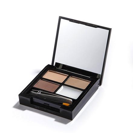Makeup Revolution, Набор для бровей Focus & Fix, Light Medium