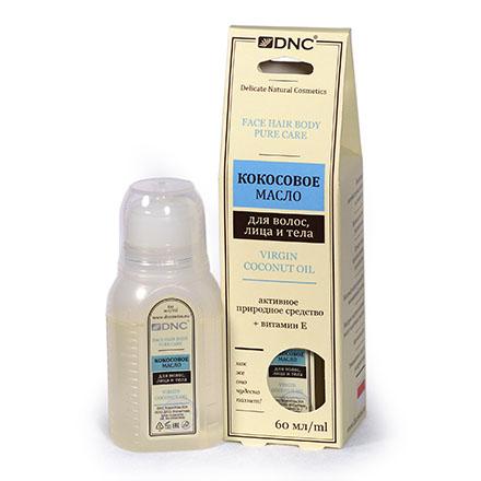 DNC, Кокосовое масло для волос, лица и тела, 60 мл