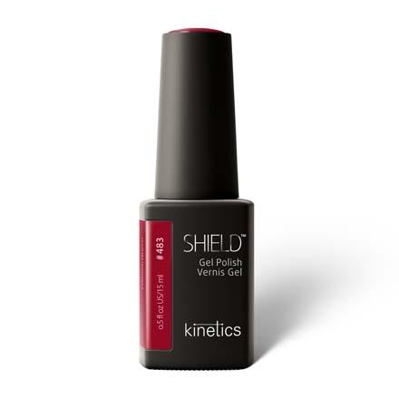 Kinetics, Гель-лак Shield №483, Crimson Queen