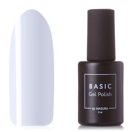 Masura, Гель-лак Basic №011S, Белый полюс