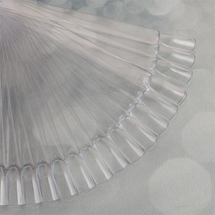 Rosi, Дисплей веерный на кольце, прозрачный, 50 шт.