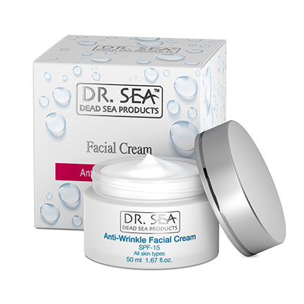 DR. SEA, Крем для лица Anti-Wrinkle, 50 мл