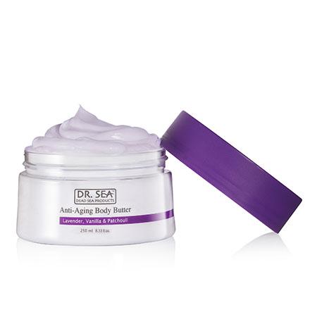 DR. SEA, Крем-масло для тела Lavender, Vanilla & Patchouli, 250 мл