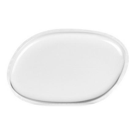Dewal, Спонж для макияжа, овальный, прозрачный